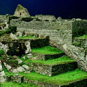Ancient Ruins in South America